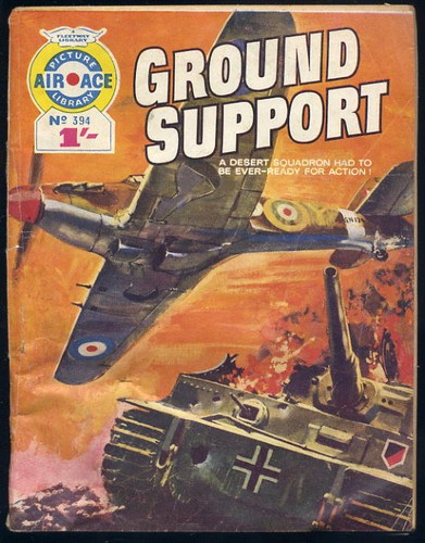 Air Ace No 394 - Ground Support