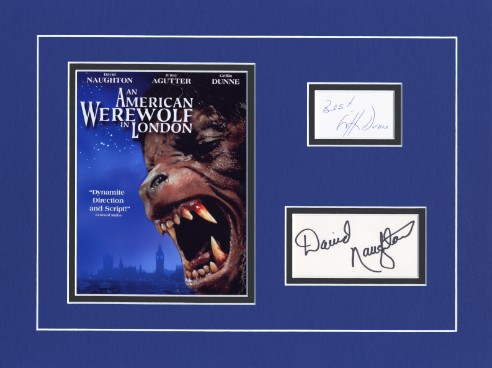 An American Werewolf In London 1981 cast signed