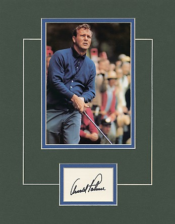 Palmer, Arnold - Autograph from this Legendary golfer