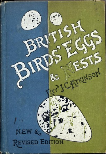 Atkinson, Rev. Canon - British Birds Eggs & Nests