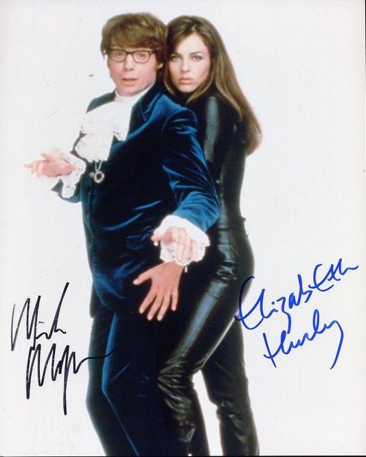 Austin Powers - signed Myers & Hurley