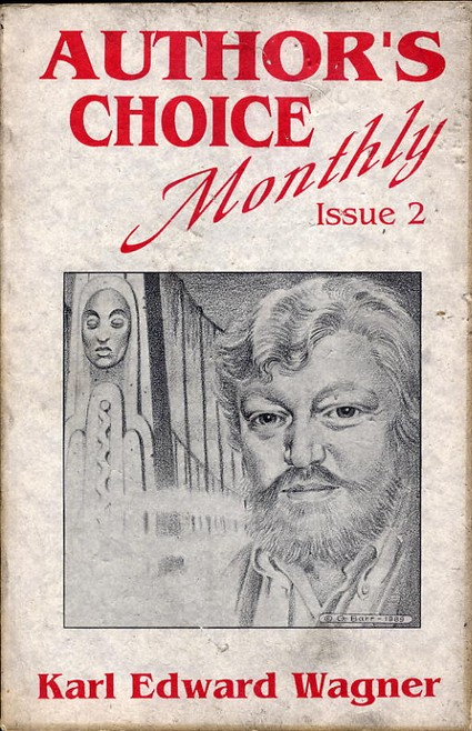 Author's Choice Monthly Issue 2 - Karl Edward Wagner - Pulp