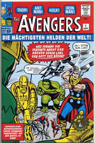 Avengers #1 - Signed by Stan Lee <b>SOLD