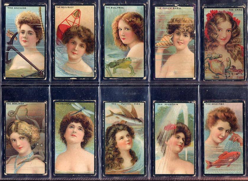 B A T - Beauties, Water Girls 1903
