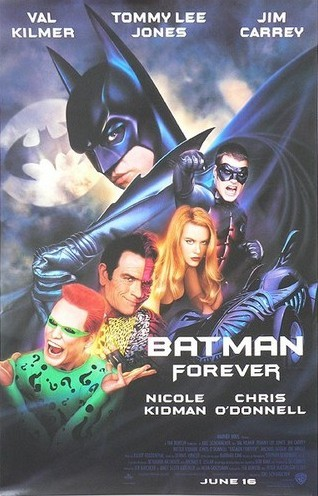 BATMAN FOREVER - One-Sheet Advance Movie Poster