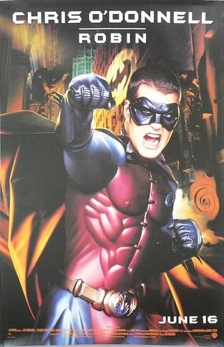 BATMAN FOREVER - One-Sheet Advance Movie Poster CHRIS O'DONNELL