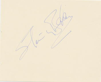 Baker, Stanley Sir (1927-1976) Signed album page
