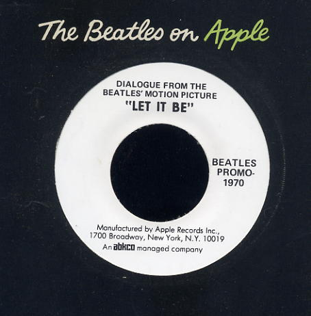 Beatles Promo - Let It Be