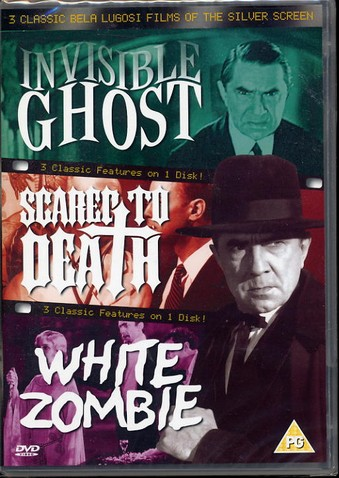 Classic Bela Lugosi - 3 Films on one dvd.