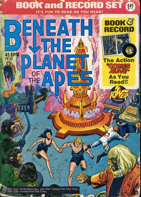 Beneath the Planet of the Apes - Comic book & Record