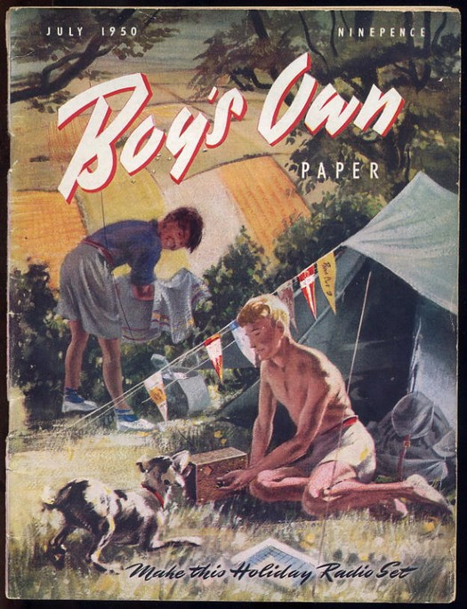 Boys Own Paper 1950 July