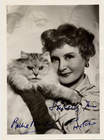 Burke, Billie (1885-1970) Autographed photo <b>SOLD</b>