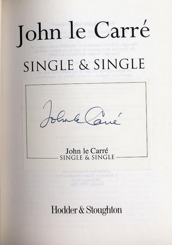 Le Carre, John - Single & Single - Signed