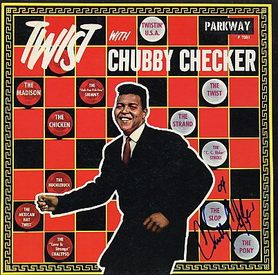 Chubby Checker - Signed In Person LP