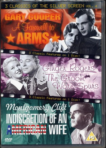 Classics of the Silver Screen - 3 films on one DVD