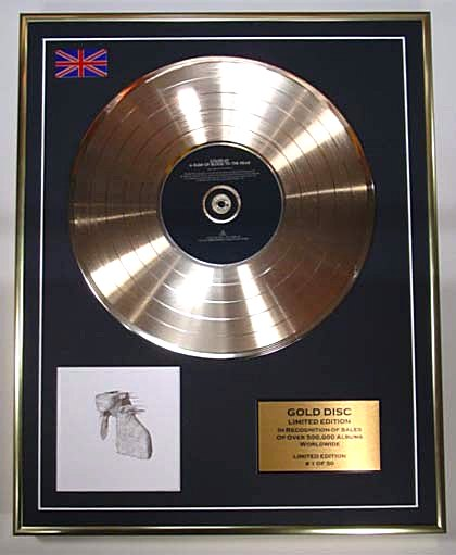 Coldplay Gold Disc A Rush of Blood to the Head