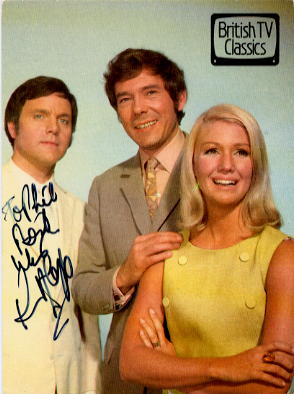 Cope, Keneth - Randall & Hopkirk Deceased signed postcard