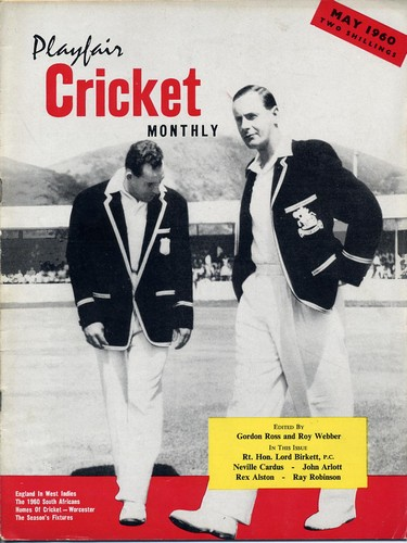 Cricket Monthly. Vol.1, No.1-12 May 1960-April 1961