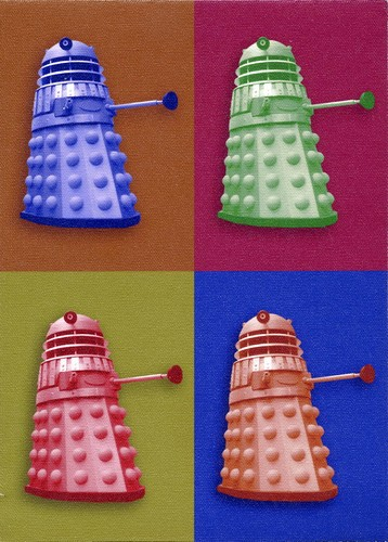 Daleks - Dr Who - Ltd Ed. 35 copies only