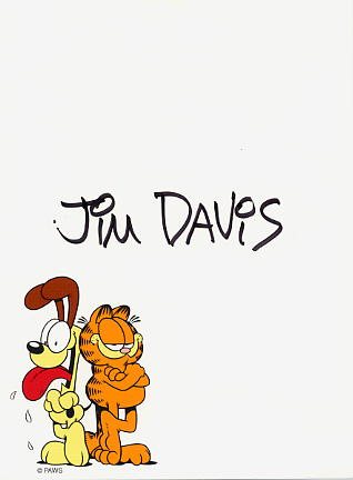 Davis, Jim - Creator of the famous 'Garfield'