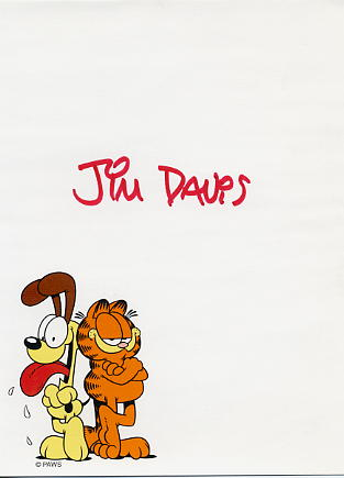 Davis, Jim - Creator of 'Garfield' the cat