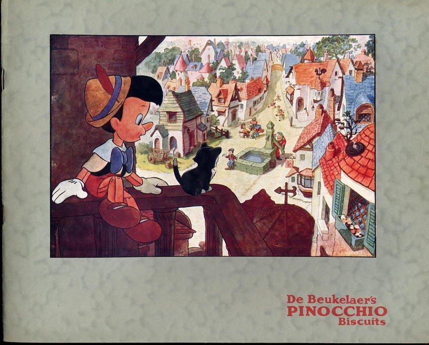 De Beukelaer Pinocchio Album complete with cards 1940