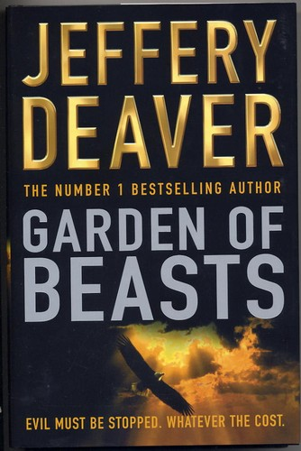 Deaver, Jeffrey - Garden Of Beasts - SIGNED BY THE AUTHOR