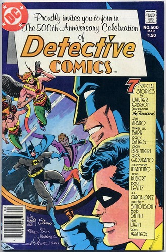 Detective Comics #500 - Signed by Artists Jim Aparo - DC Comic