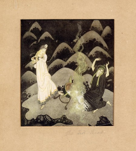 Dulac, Edmund - The Fire Bird - 1916 original print