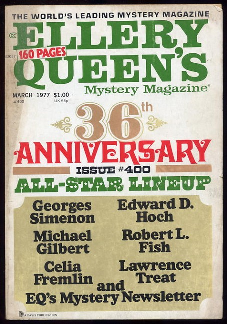 Ellery Queens Mystery Magazine No.400