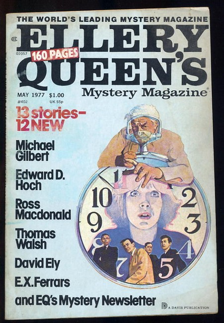 Ellery Queens Mystery Magazine No.402