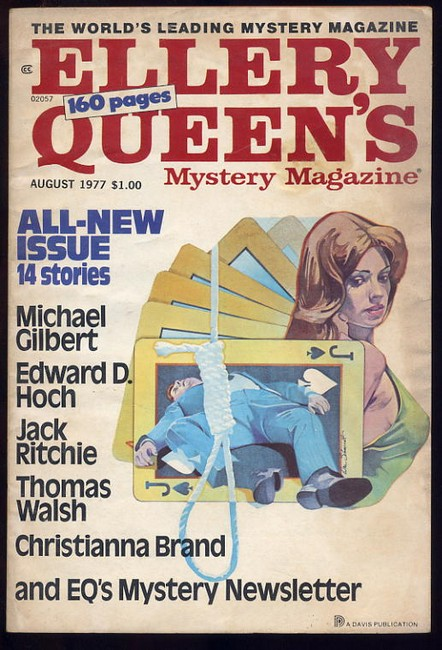 Ellery Queens Mystery Magazine No.405