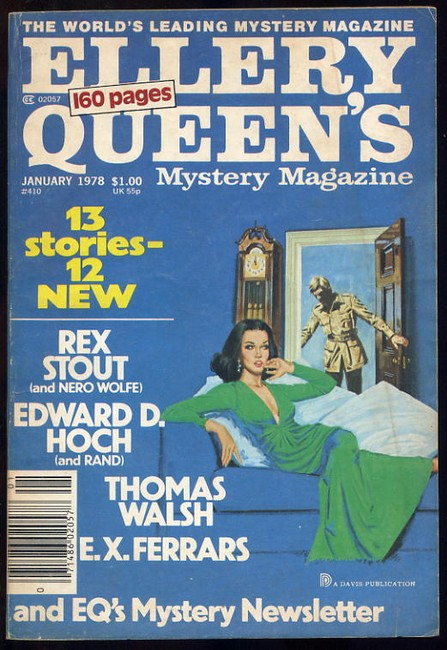 Ellery Queens Mystery Magazine No.410