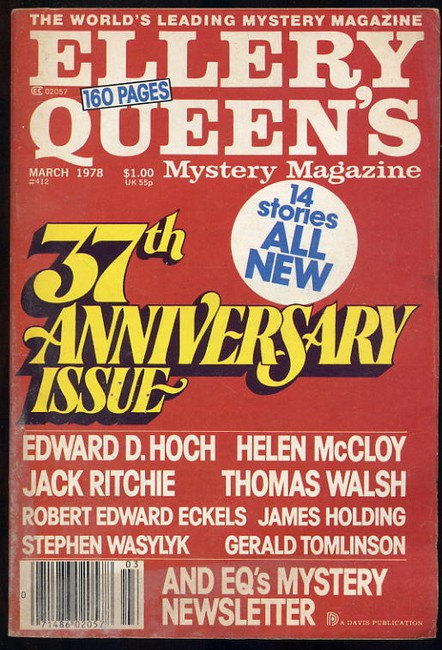 Ellery Queens Mystery Magazine No.412