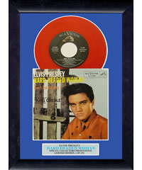 Elvis - Hard Headed Woman - Framed Vinyl