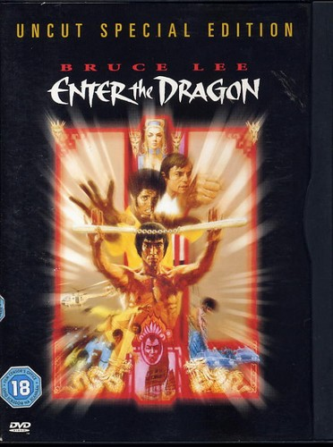 Enter The Dragon - Bruce Lee - Uncut Special Edition DVD <b>SOLD