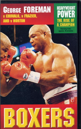 George Foreman V Chuvalo/Norton - official fight video