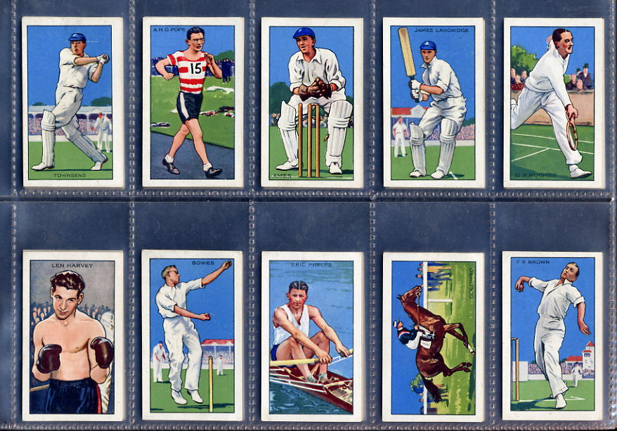 Gallaher - Champions 2nd Series 1935