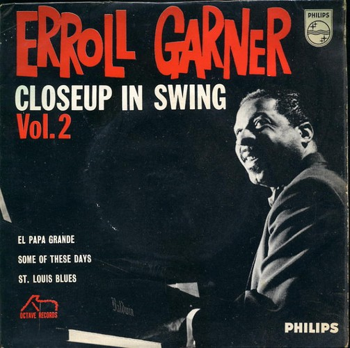 Garner, Erroll - Closeup In Swing Vol 2 - EP