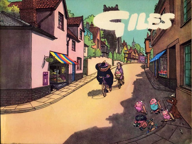 Giles - Fifteenth Series 1960/61