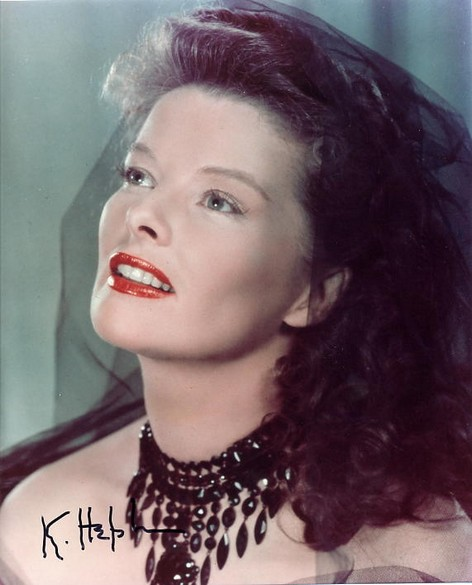 Hepburn, Katharine - signed photo