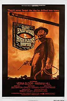 HIGH PLAINS DRIFTER (1973) US 1-Sht LB