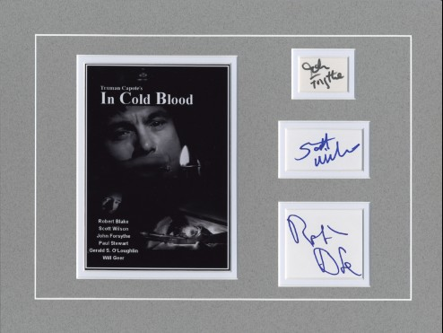 In Cold Blood - matt cast signed