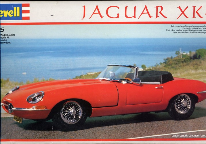 Jaguar XK-E Revell Kit - Unused