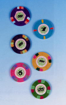 James Bond Casino Chips from Licence To Kill