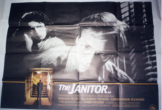 Janitor, the - 1981 - Quad Poster