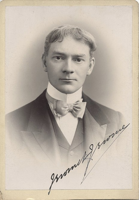 Jerome K Jerome - Rare Signed Cabinet Card Photo <b>SOLD