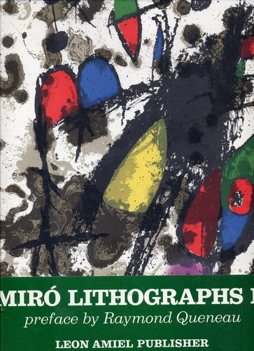Joan Miro: Lithographs II - Contains 12 Original Lithographs