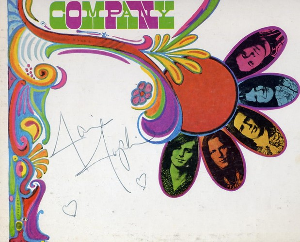 Big Brother - Janis Joplin Signed