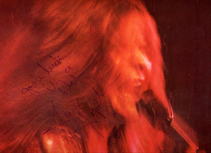 Joplin, Janis - Kozmic Blues - Signed